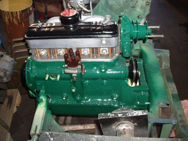 Takto vypadá po renovaci (motor se rozebere do šroubku a za se složí